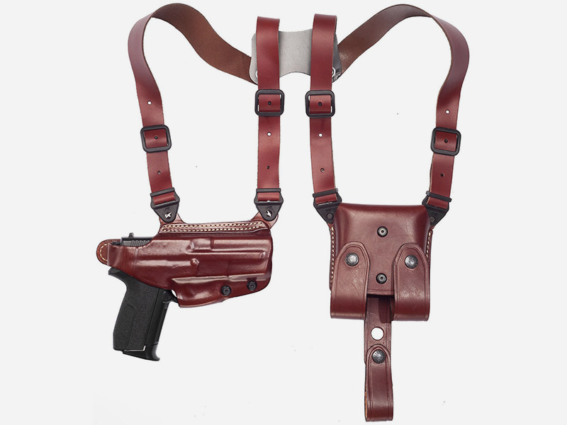 Shoulder Holster System with Mag Pouch